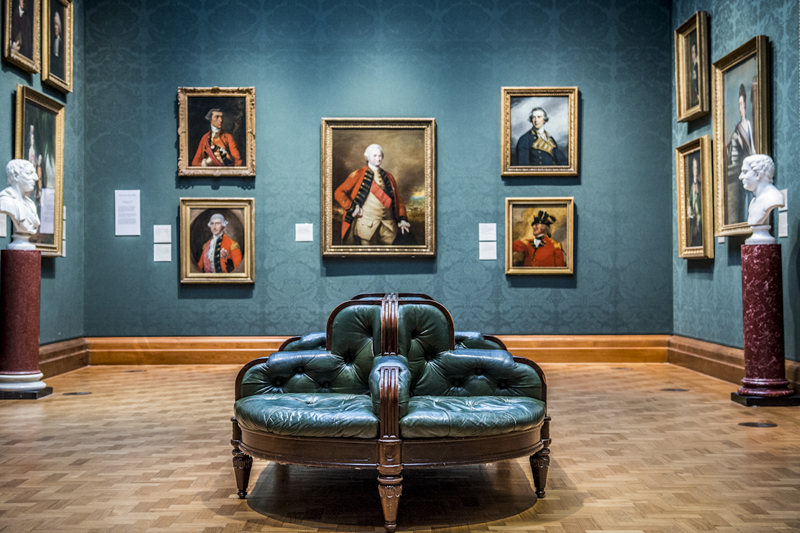 damiano moretti photography - fineart - National Portrait Gallery - London