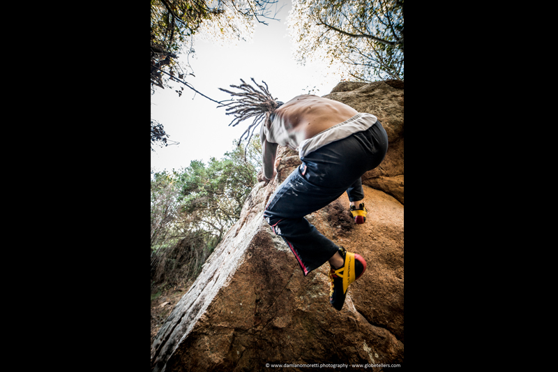 damianildo9 photography - humans - Sardinia Bouldering