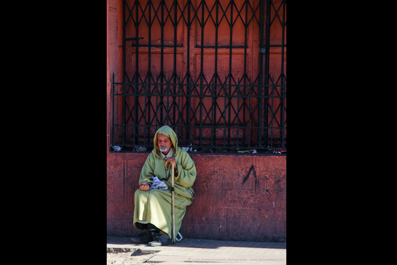 damianildo9 photography - humans - beggar Merzouga - Morocco