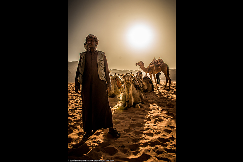 damianildo9 photography - humans - Desert Shadows Bedouin - wadi rum