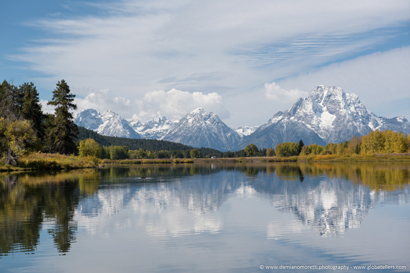 damiano moretti photography - landscape - Oxbow bend - Wyoming - USA