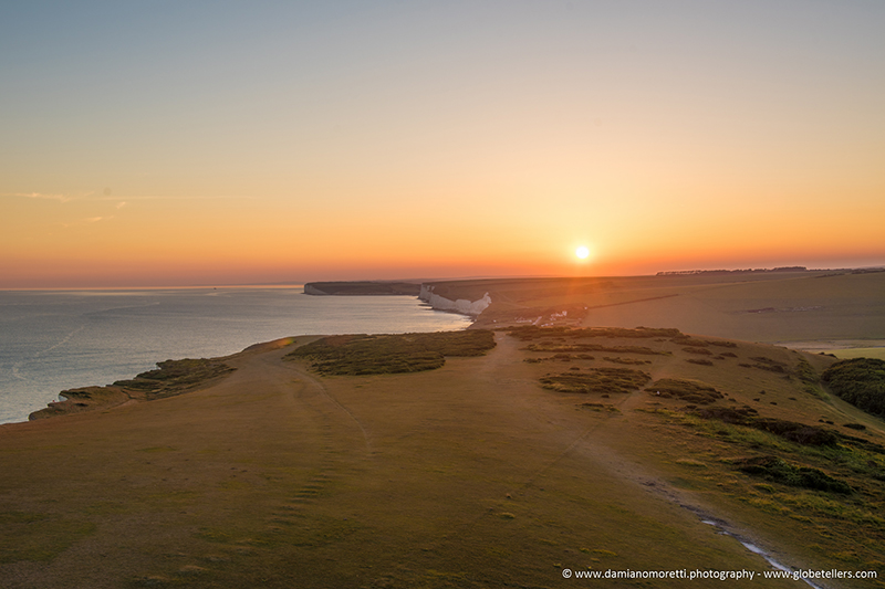 damiano moretti photography - landscape - Seven Sisters Sunset - Beachy Head - England
